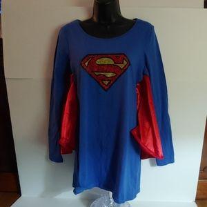 DC Comics Superman Winged Sleeve Shirt